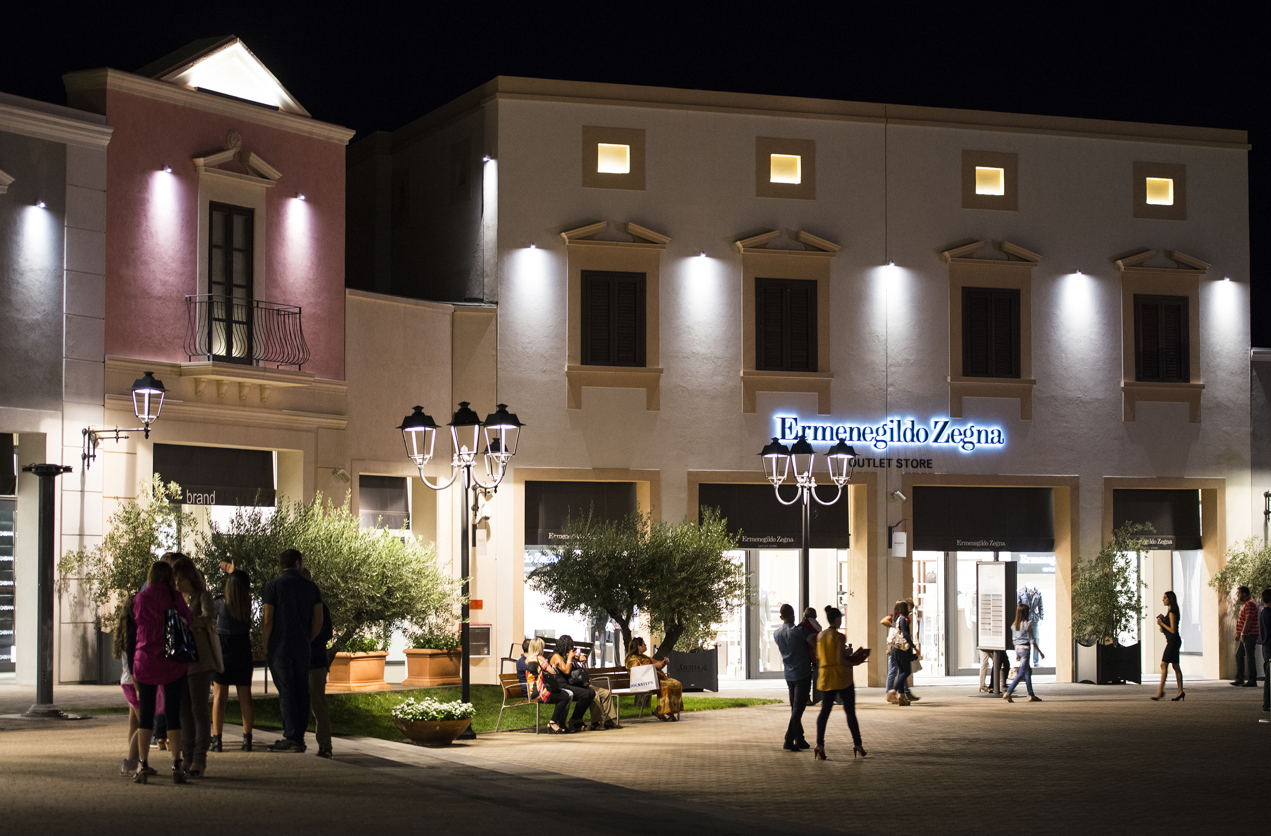 In the middle of Sicily you find Sicilia Outlet Village - TMSTUDIO ...